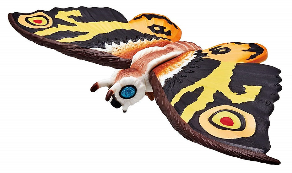 Bandai Movie Monster Series Godzilla Mothra imago Vinyl Figure