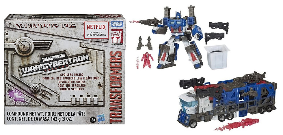 Transformers Generations War for Cybertron Ultra Magnus Spoiler Pack [Exclusive]