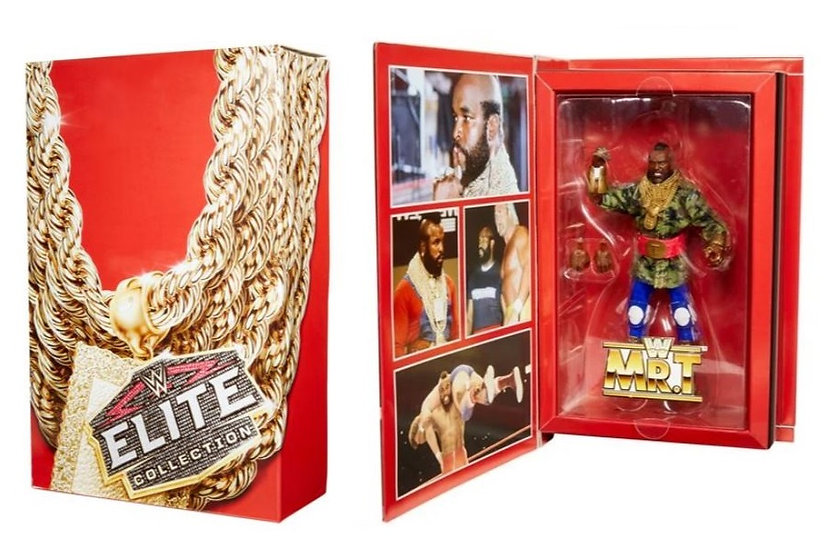 WWE Mr. T Elite Collection 2020 Convention Exclusive Action Figure