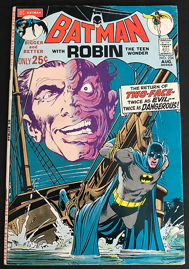 Batman 234 FN [Water Stains Back]