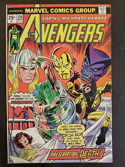 Avengers 139 VF