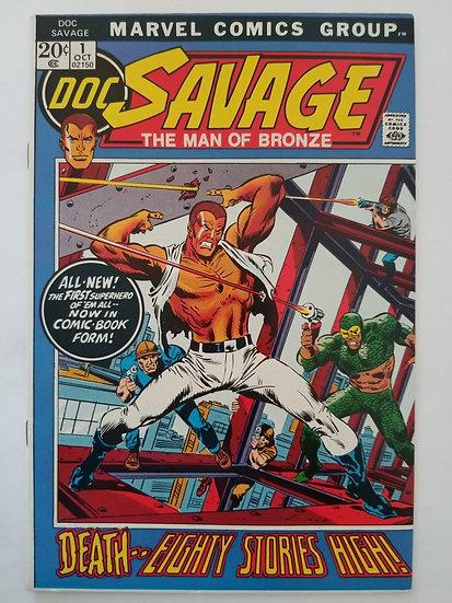 Doc Savage (1972 Marvel Comic) #1  VF/NM 1st Modern Appearance of Doc Savage