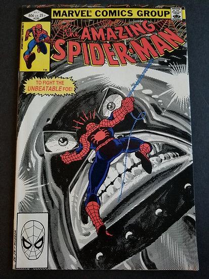 Amazing Spider-Man 230 VF+. Juggernaut appearance.