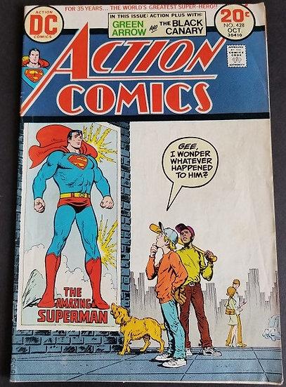 Action Comics (1938 DC) #428 FN