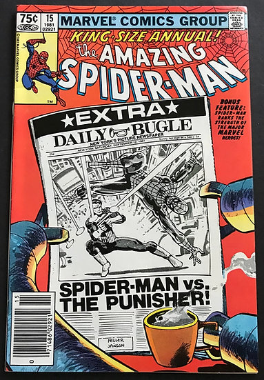 Amazing Spider-Man ( Marvel ) Annual #15 NM-