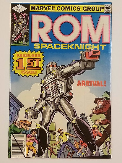 Rom (1979-1986 Marvel) #1 NM- [1st Appearance ROM]
