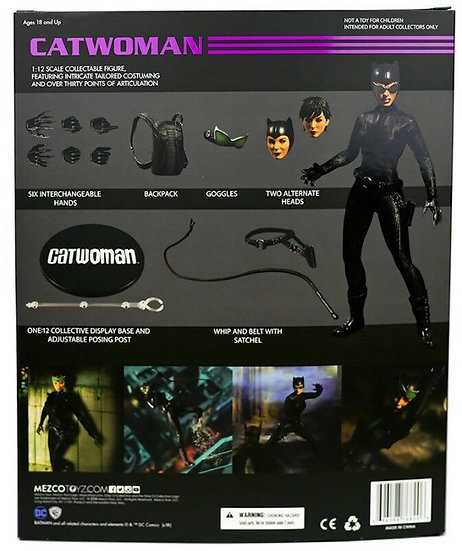 Catwoman Selina KyleOne:12 Collective Action Figure