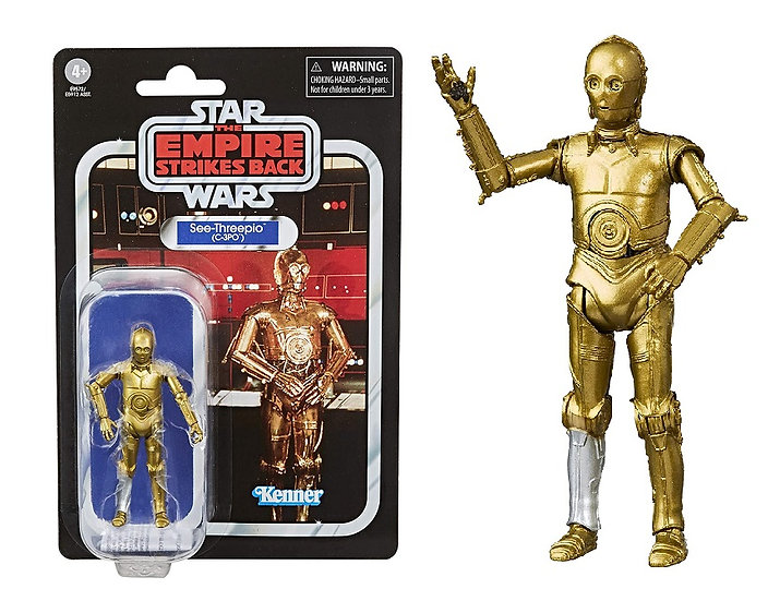 Star Wars The Empire Strikes Back Vintage Collection C-3PO Action Figure