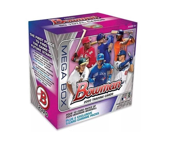 2020 Bowman Baseball Mega Box By Topps