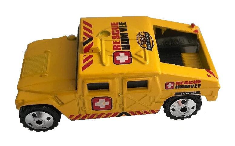 1994 Matchbox Hummer rescue Humvee