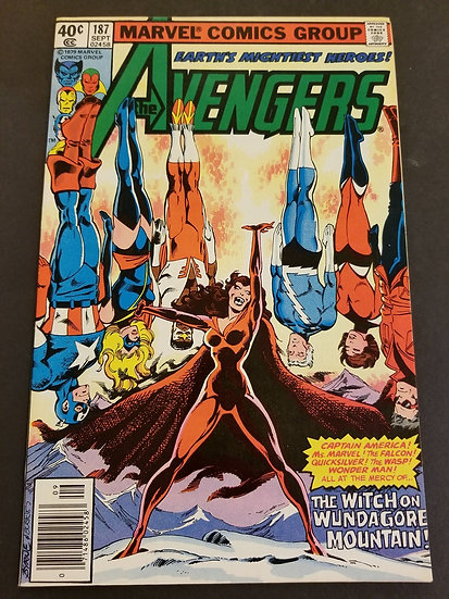 Avengers (Marvel)#187 NM