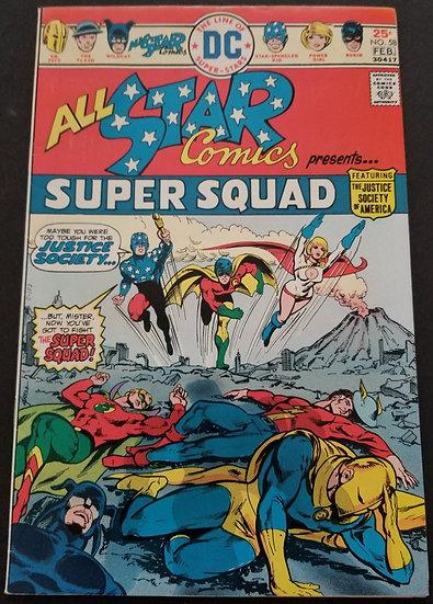 All Star Comics 58 VF 1st Power Girl