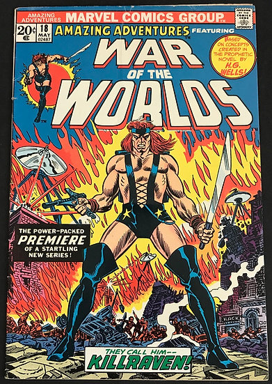 Amazing Adventures (Marvel) #18 GD