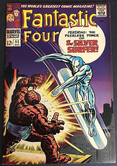 Fantastic Four (1961 1st Series) #55 VF