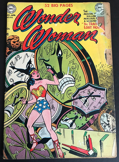 Wonder Woman (1942 1st Series DC) #46 GD
