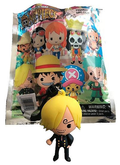 Shonen Jump One Piece Sanji 3-D Figural Bag Clip