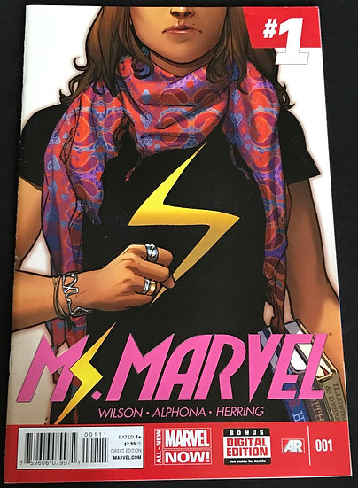 Ms. Marvel (Marvel 3rd Series) #1 VF+