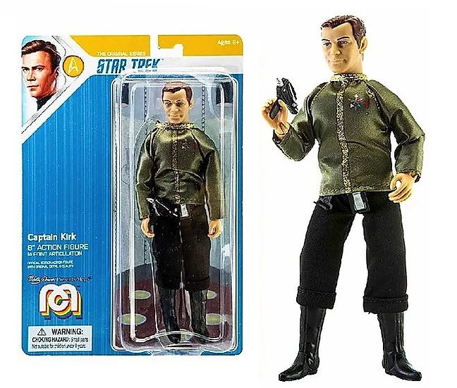 "Star Trek Captain Kirk 8"" MEGO Action Figure"
