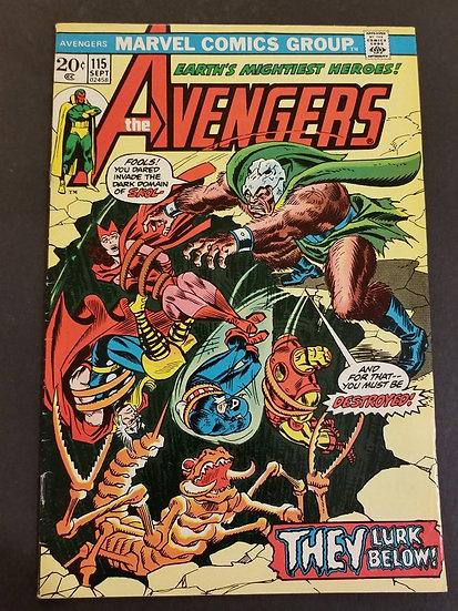 Avengers 115 VF
