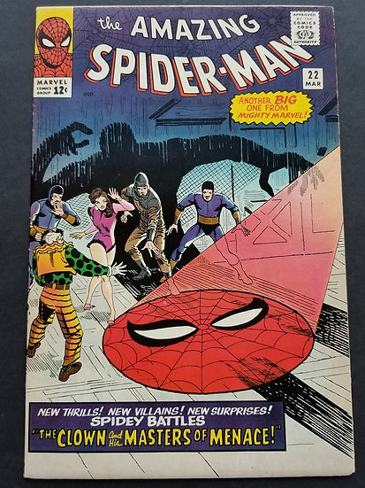 Amazing Spider-Man 22 VF. 1st Appearance of Princess Python.