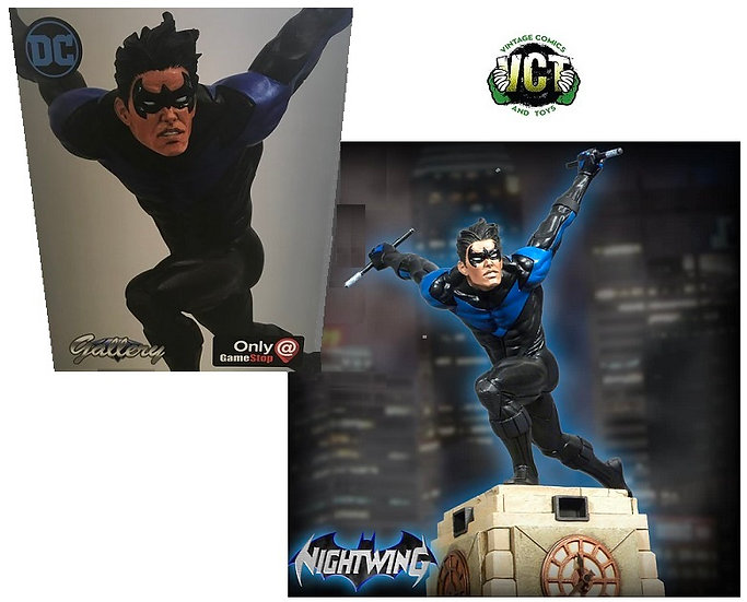 DC Gallery Diamond Select: Nightwing Diorama Gamestop Exclusive Statue