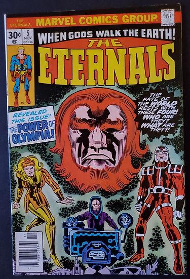 Eternals 5 VF+  [1st Domo, Thena, Makkari, Zuras]