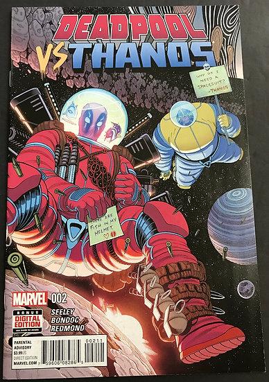 Deadpool vs. Thanos (2015) #2 VF