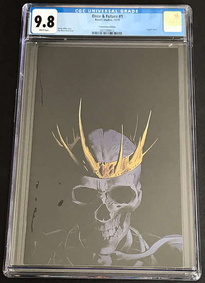Once & Future 1 Convention Edition CGC 9.8 White Pages