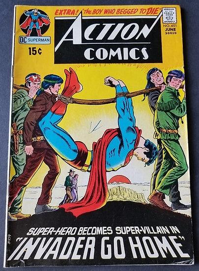 Action Comics (1938 DC) #401 FN/VF