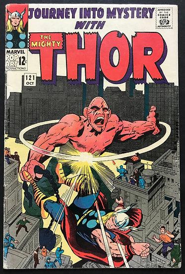Thor (Journey Into Mystery) #121 VG/FN [Loki App]