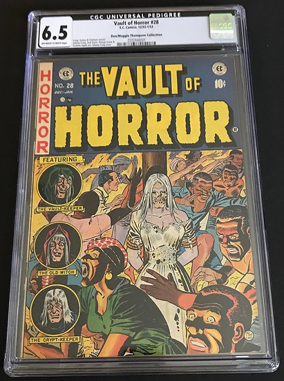 Vault Of Horror (1950 E.C. Comics) #28 CGC 6.5 Off-White To White Pages
