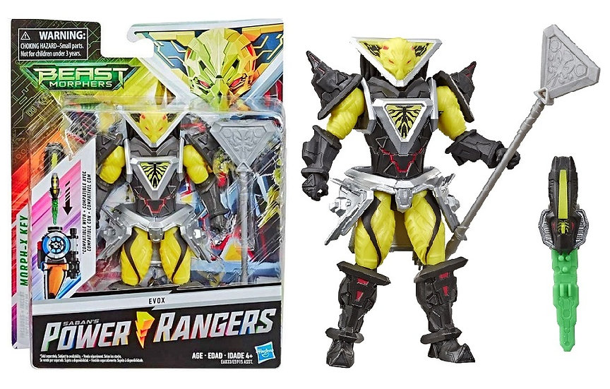 Power Rangers Beast Morphers Evox Action Figure