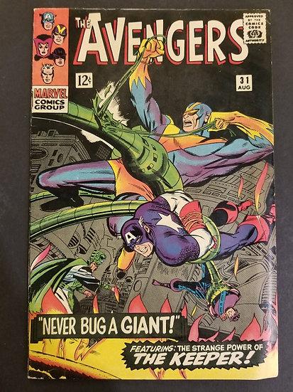Avengers (Marvel ) #31 FN+