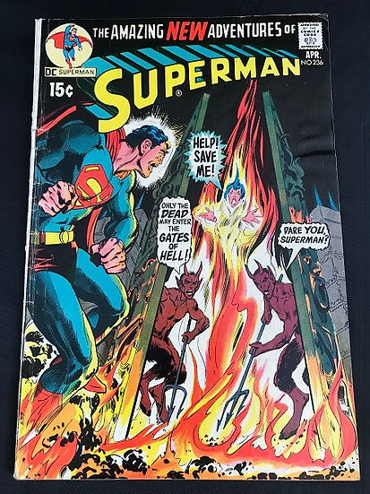 Superman (1939 1st Series) #236 VG
