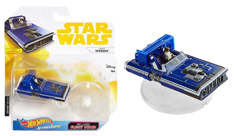 Hot Wheels Starships Star Wars Han's Speeder Die-Cast
