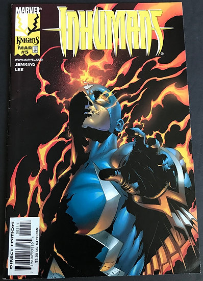 Inhumans (Marvel ) #5 FN/VF