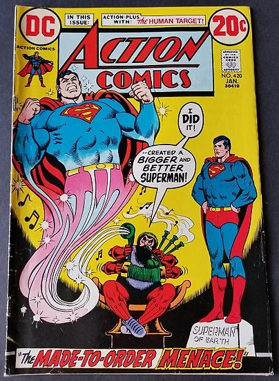 Action Comics (1938 DC) #420 FN