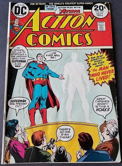 Action Comics (1938 DC) #427 FN