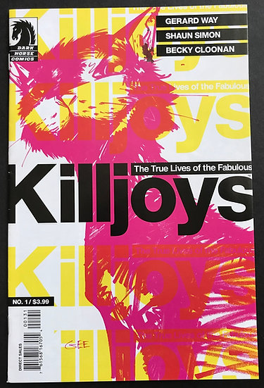 True Lives of The Fabulous Killjoys (2013 Dark Horse) #1 VF