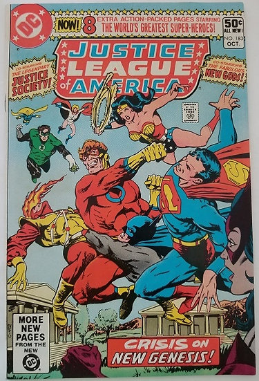 Justice League of America (1960 1st Series) #183 NM