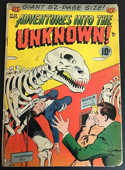 Adventures into the Unknown (1948 ACG) #29 GD