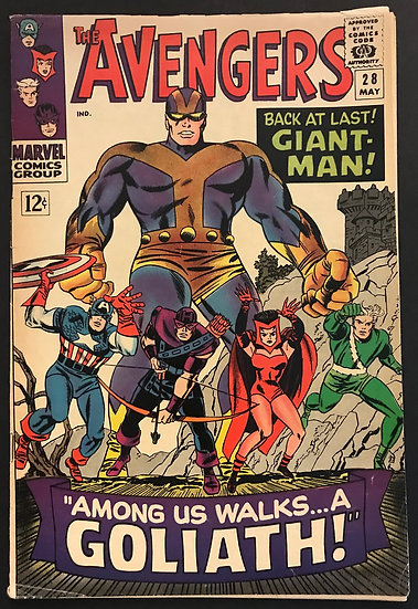 Avengers 28 VG [1st Collector]