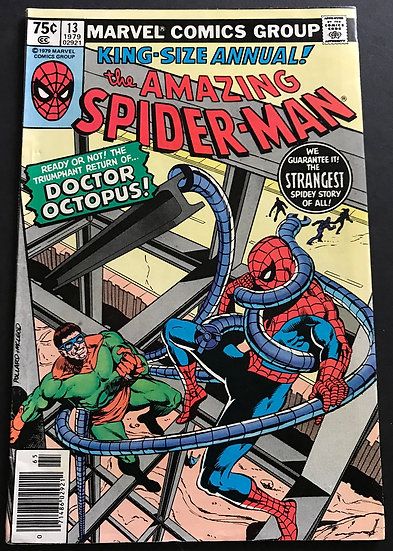 Amazing Spider-Man (1963 Marvel ) Annual #13 VF