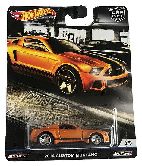 Hot Wheels Premium 2014 Custom Mustang