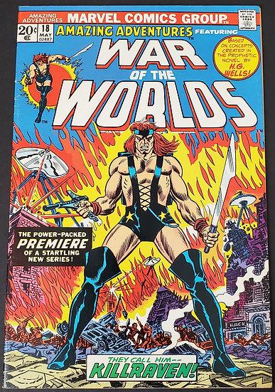 Amazing Adventures (Marvel) #18 VF/NM [1st Killrav [1st Killraven]