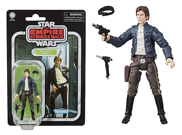 Star Wars The Empire Strikes Back Vintage Collection Han Solo Action Figure
