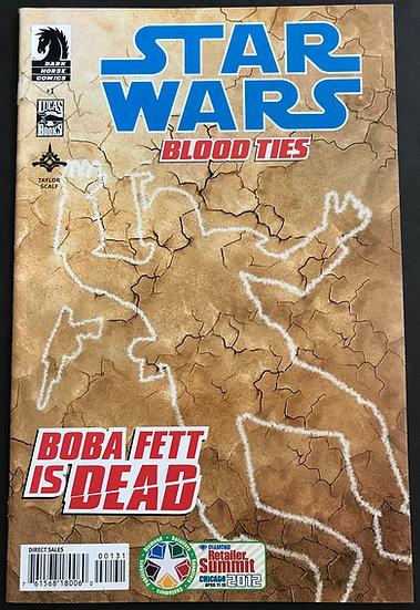 Star Wars Blood Ties Boba Fett Is Dead (2012) #1