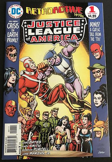 DC Retroactive Justice League America The 70s #1 (2011)