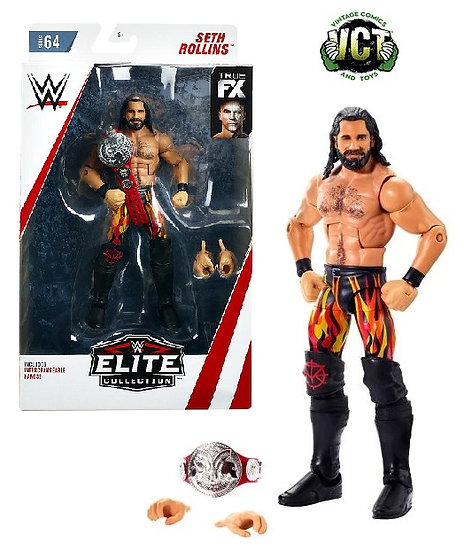 WWE Elite Collection Seth Rollins Figure Series 64