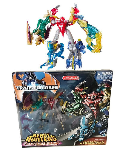 2013 Transformers Beast Hunters Predacons Rising Abominus [Damage Box]